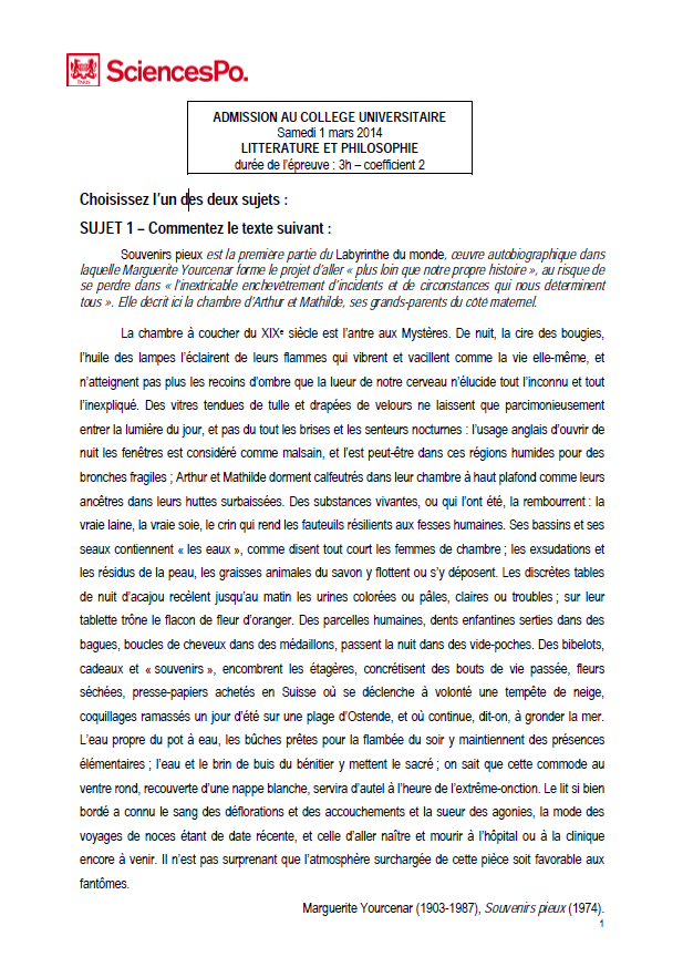 sciences po lettre de motivation Litté & Philo – SOSciencesPo – Aide & Conseils sciences po lettre de motivation