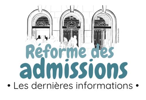 réforme des admissions dernières informations